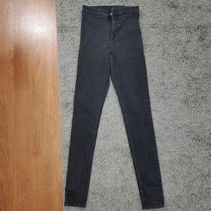 Black TopShop Joni Jeans